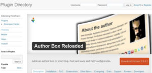 plugin wordpress author box reloaded