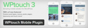 plugins wordpress wptouch mobile