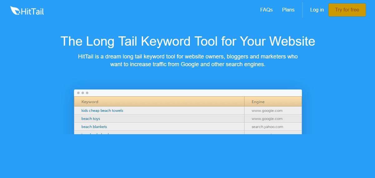 herramientas para encontrar keywords: Hittail