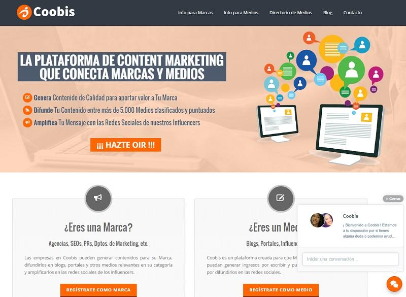 cómo ganar dinero con un blog con Coobis