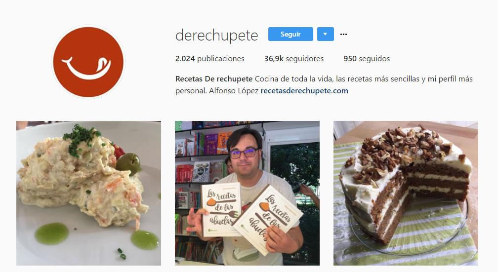 top influencers de Instagram en gastronomía: De rechupete