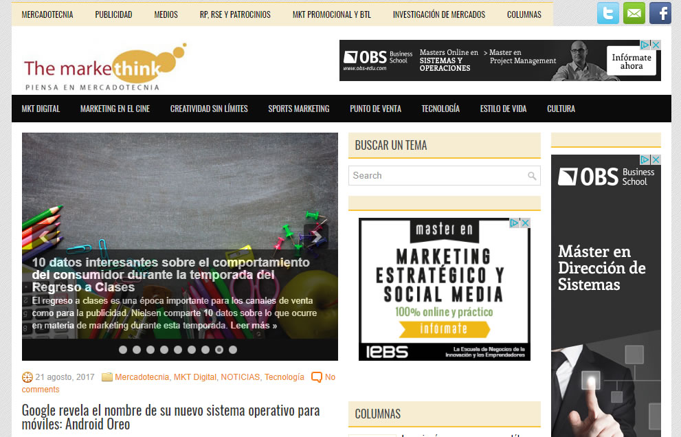 blogs de marketing de Mexico: Markething