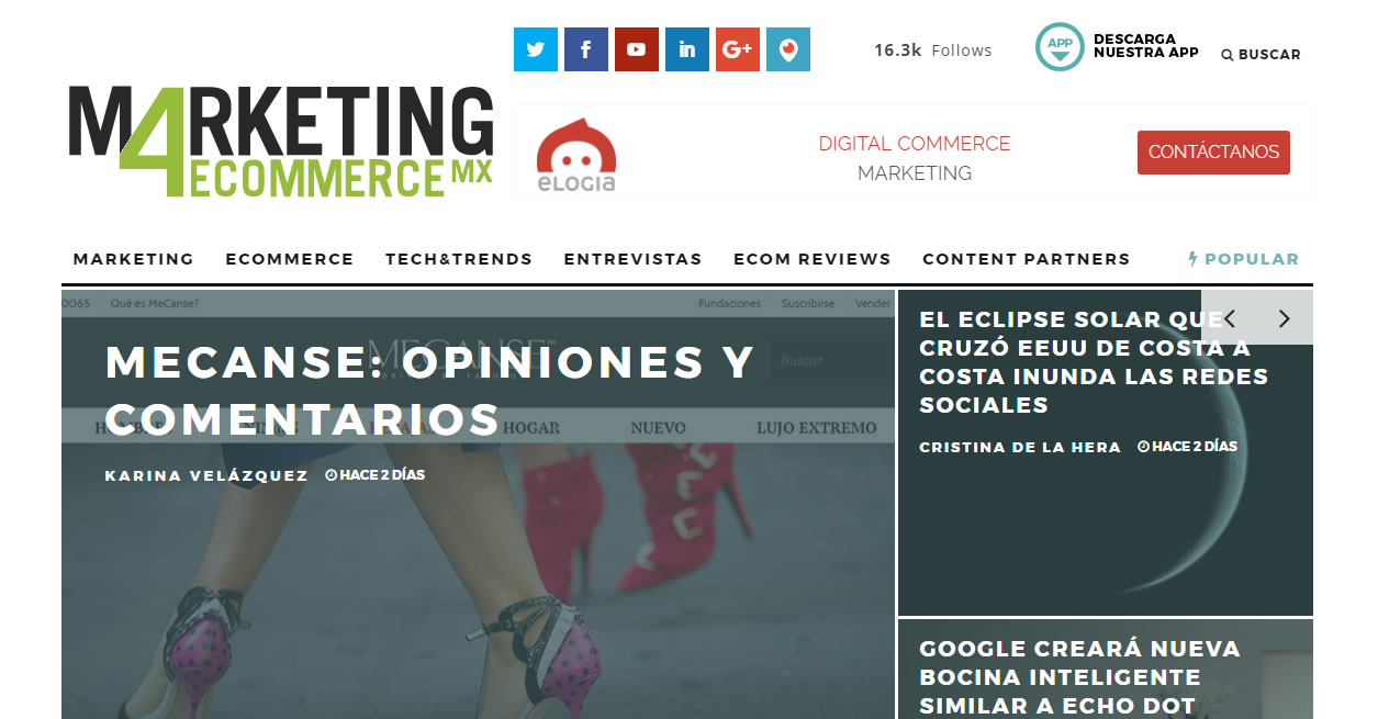 blogs de marketing de Mexico: Marketing4ecommerce