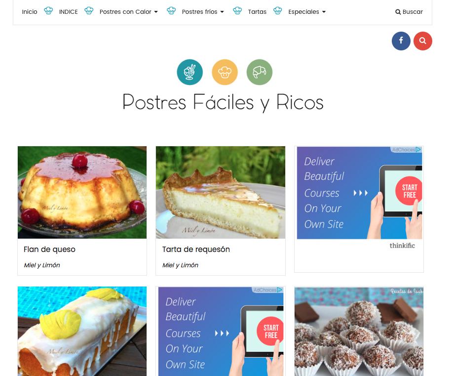 blogs de recetas