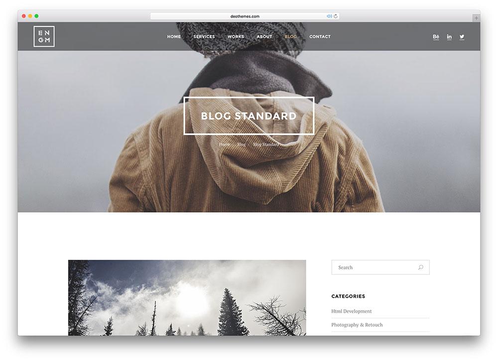 plantillas responsive para bloggers: Enigma