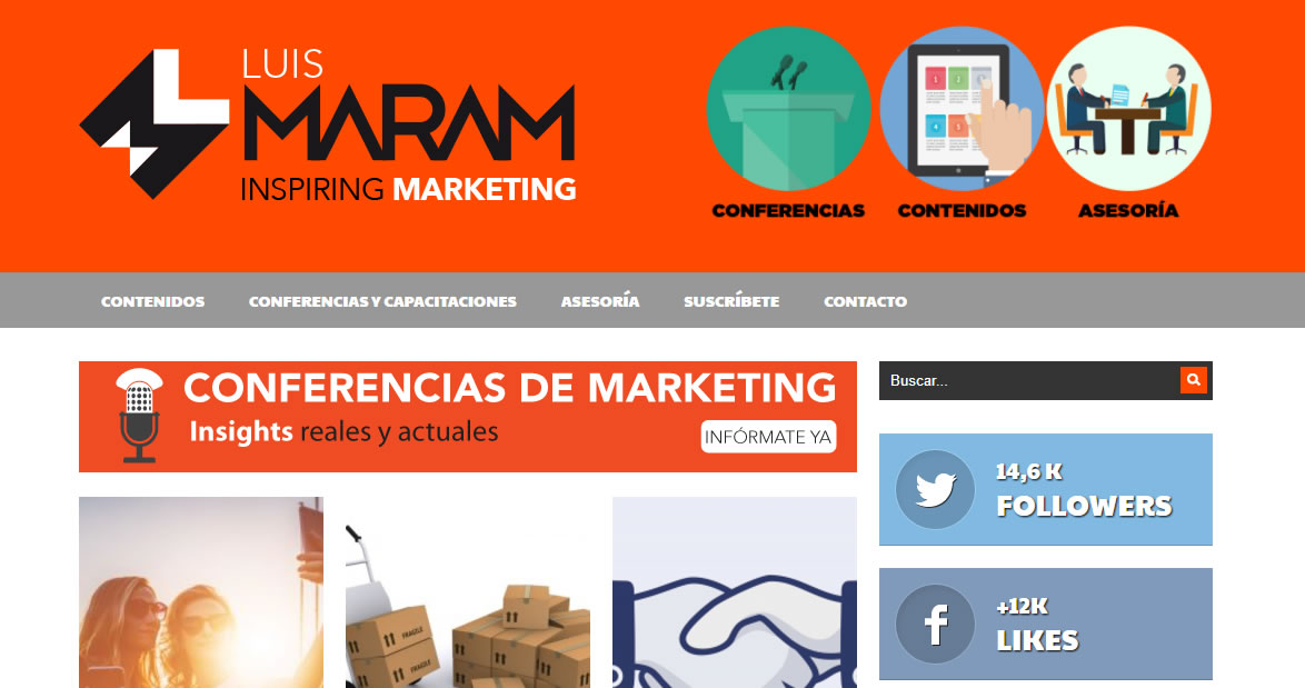 blogs de marketing de Mexico: Luis Maram