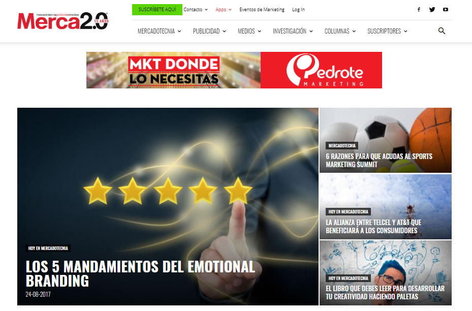 blogs de marketing de Mexico: Merca 2.0