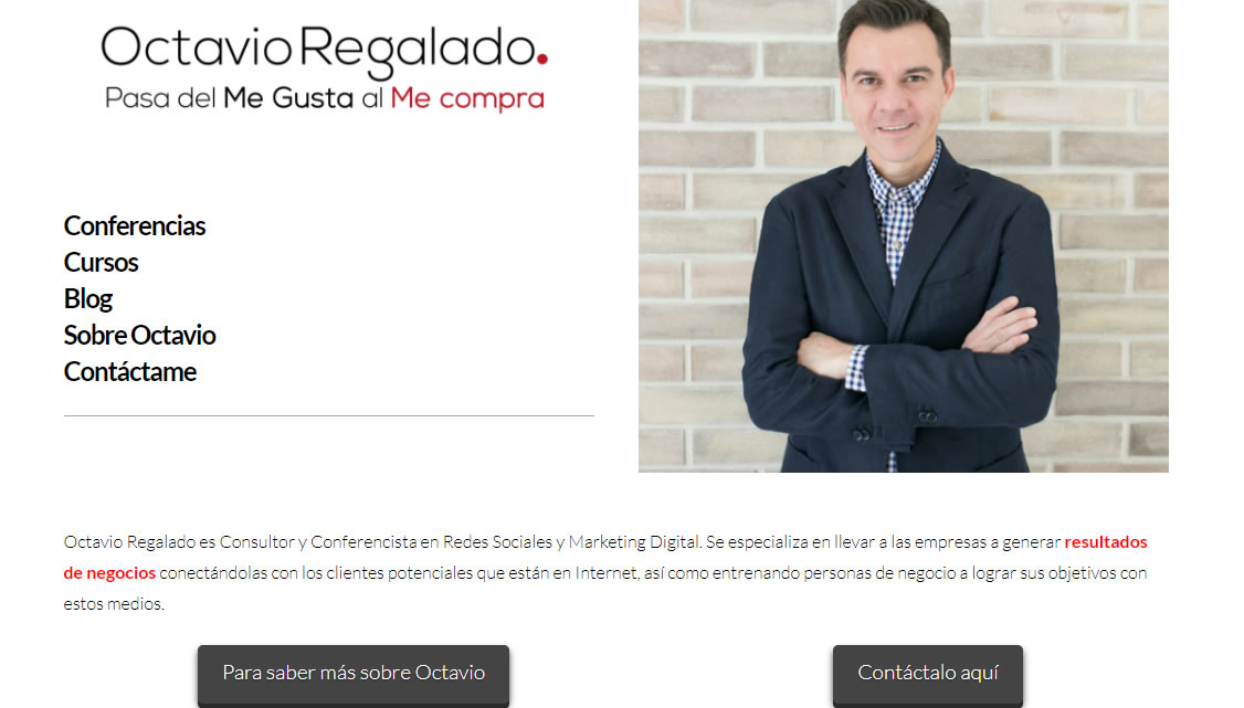 blogs de marketing de Mexico: Octavio Regalado