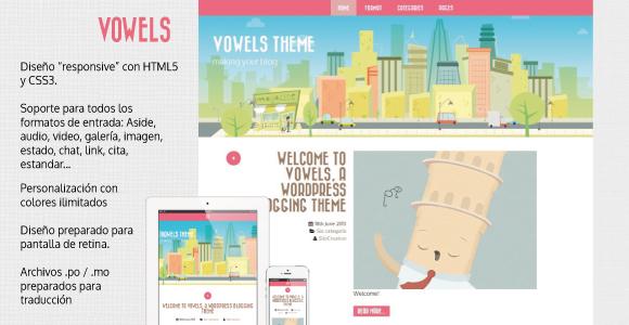plantillas responsive para bloggers: Vowels
