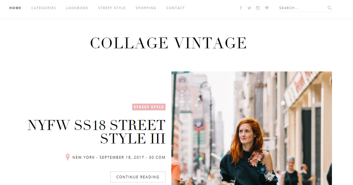 influencers de moda: Collage Vintage