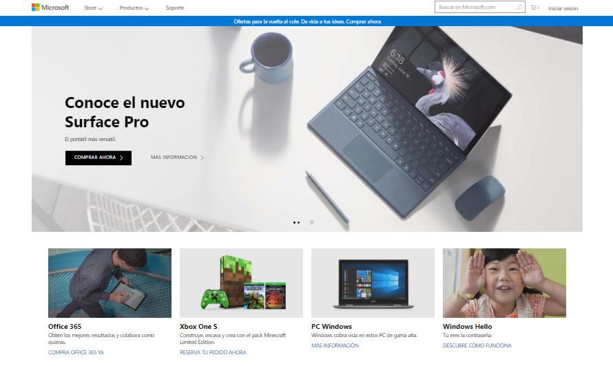 buenas prácticas de content marketing: Microsoft