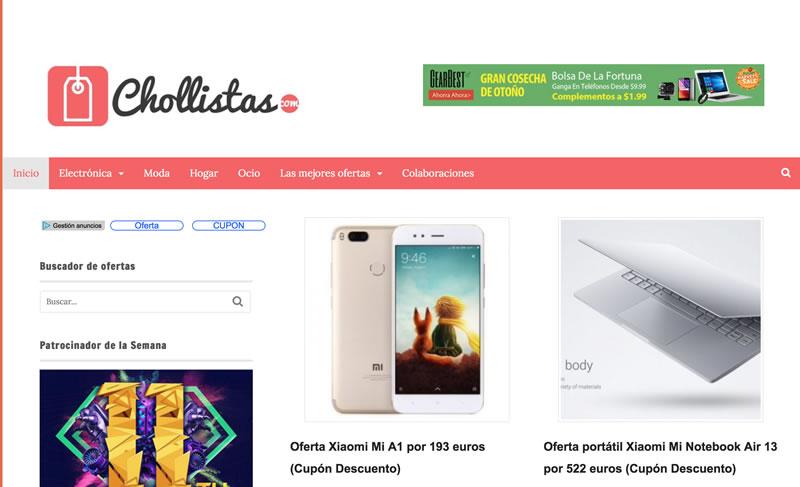 blogs de moda: Chollistas