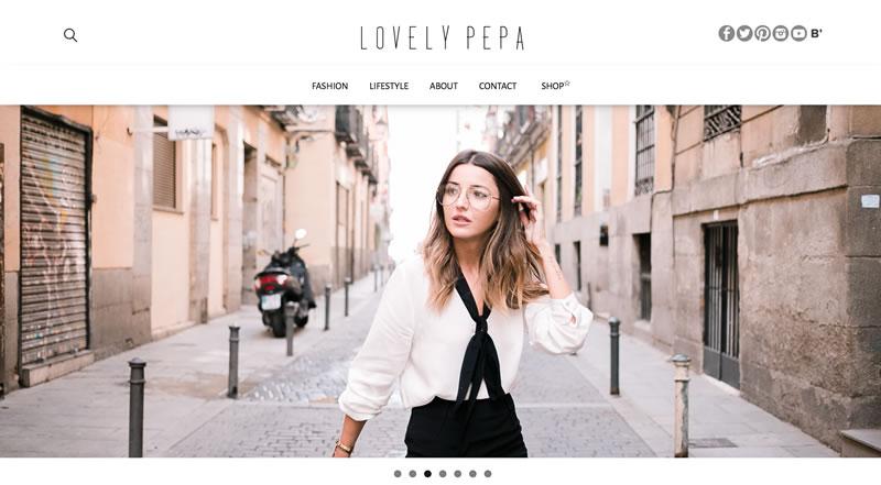 blogs de moda: LovelyPepa