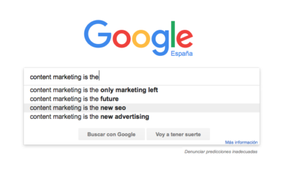 objetivos de content marketing