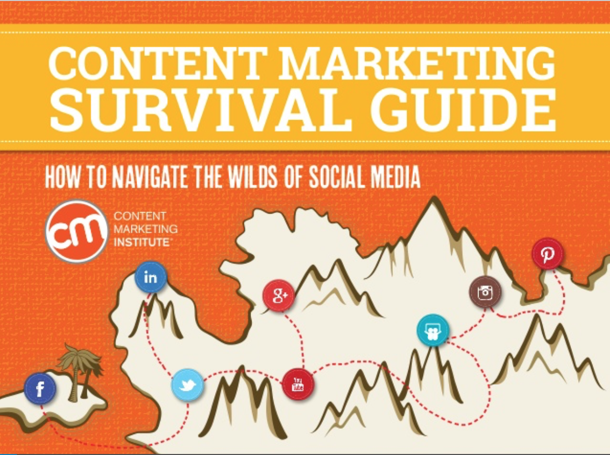 ebooks de content marketing: Survival Guide