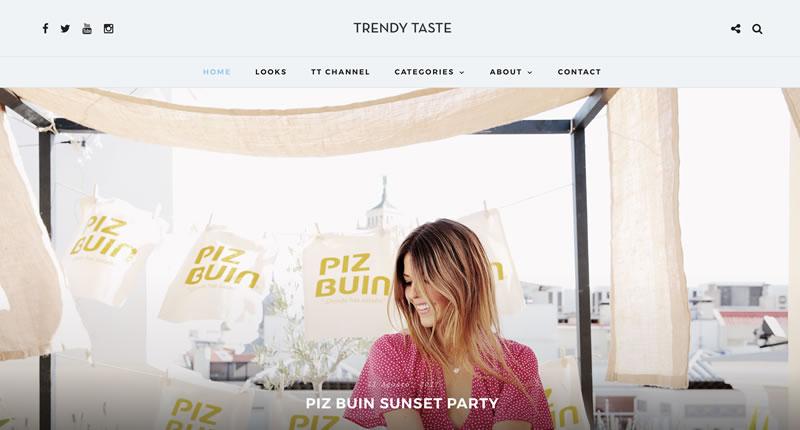 blogs de moda: Trendy Taste