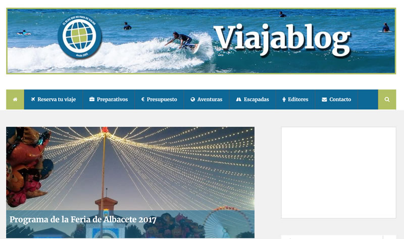 blogs de viajes en español: Viajablog