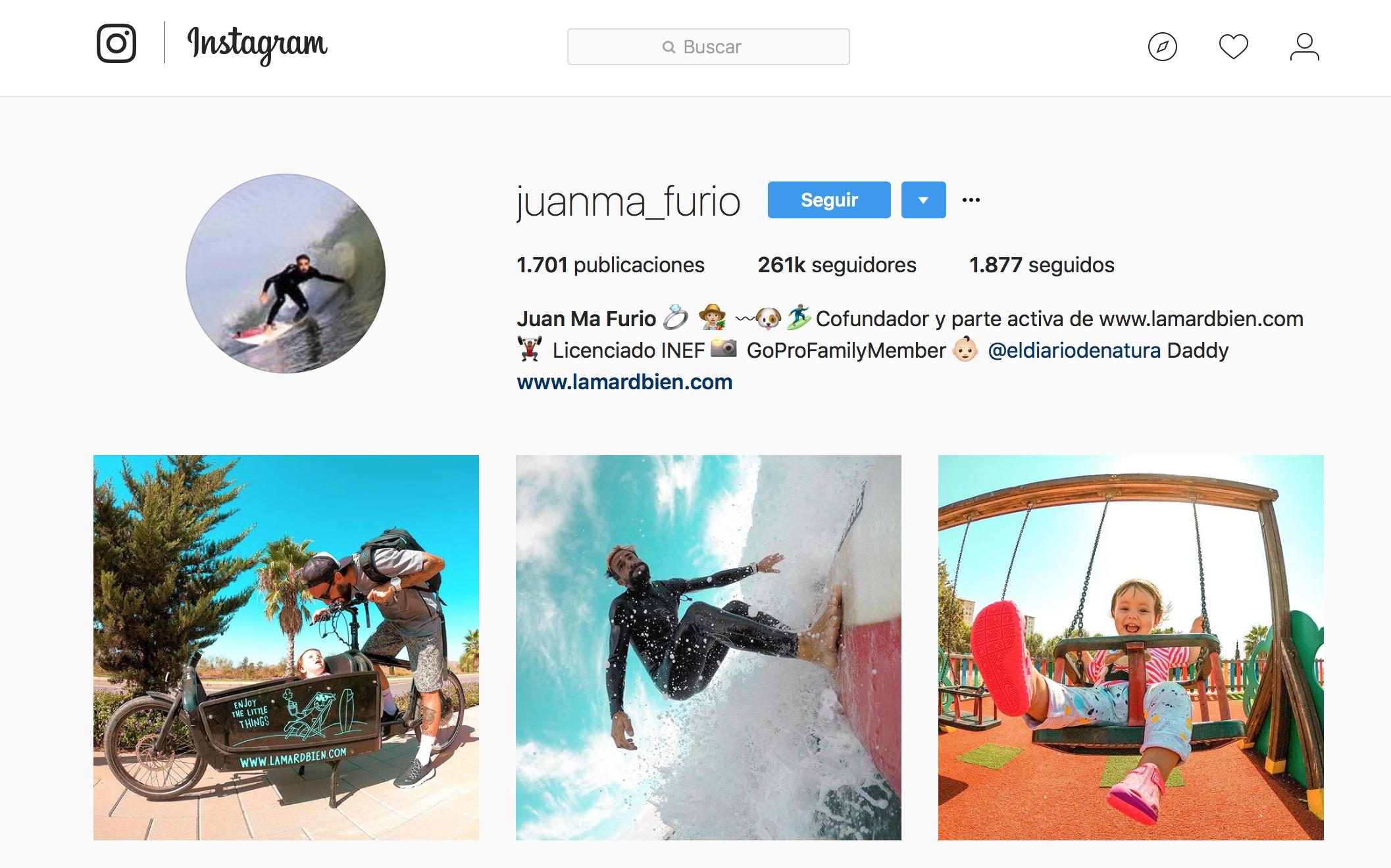influencers de vida sana: Juanma Furio