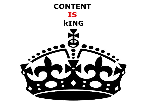 estrategia de blogging: content is king