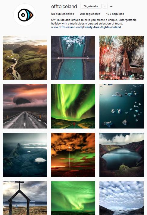 tema único en Instagram