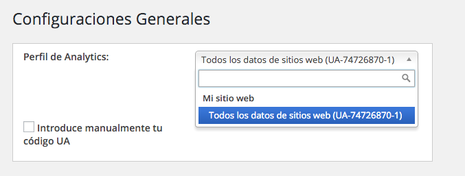 integrar Google Analytics en un blog