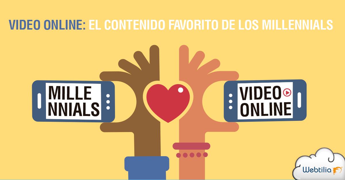 tipos de contenidos para incrementar visitas: vídeo online