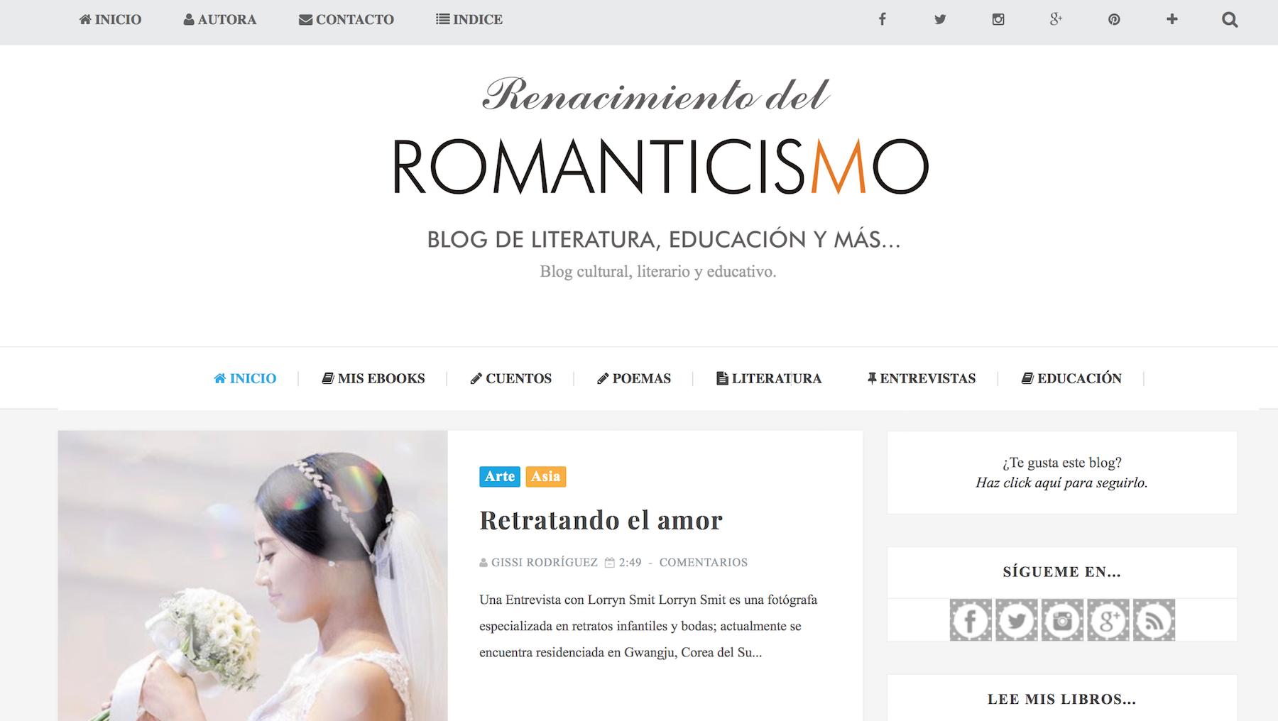 Los 10 mejores blogs de literatura en español - Content Marketing ...
