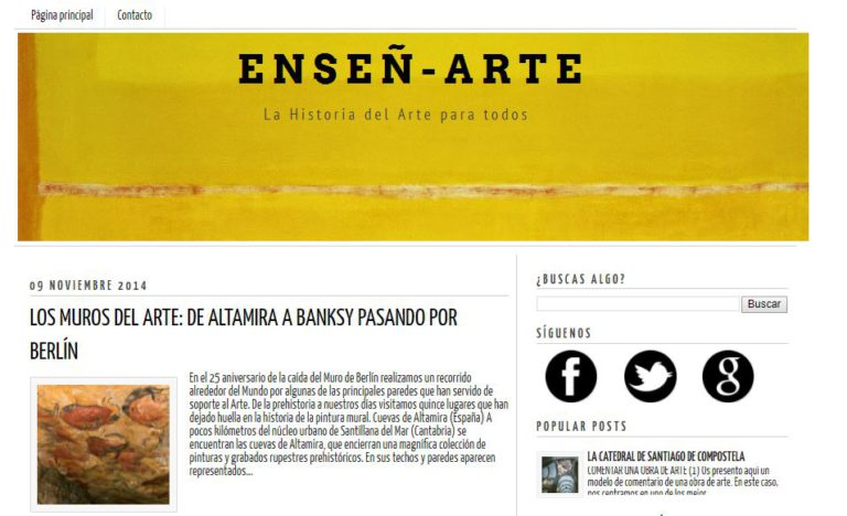 mejores blogs de arte españoles