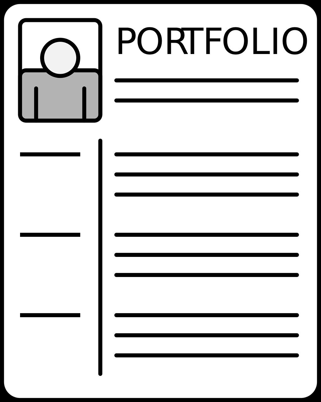 crear un portfolio como redactor de contenidos
