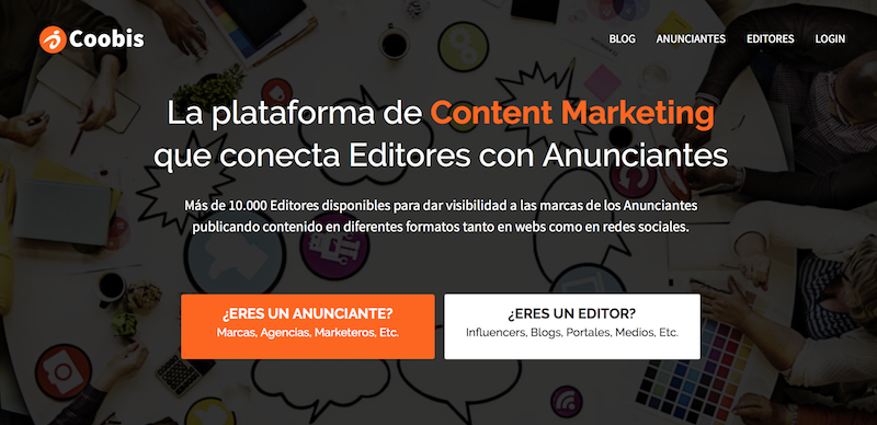 plataforma de content marketing
