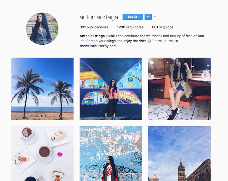 @antoniaortega instagramers de viajes