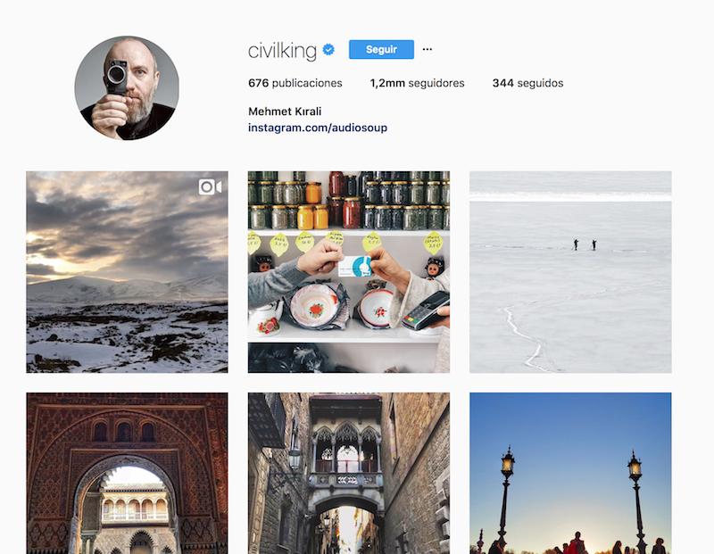 @civilking instagramers de viajes