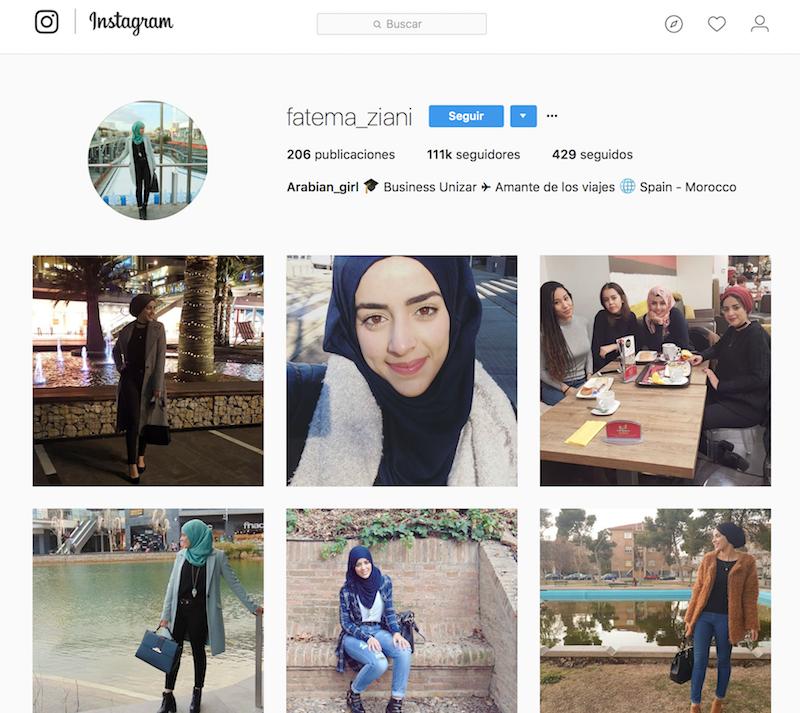 @fatema_ziani instagramers de viajes