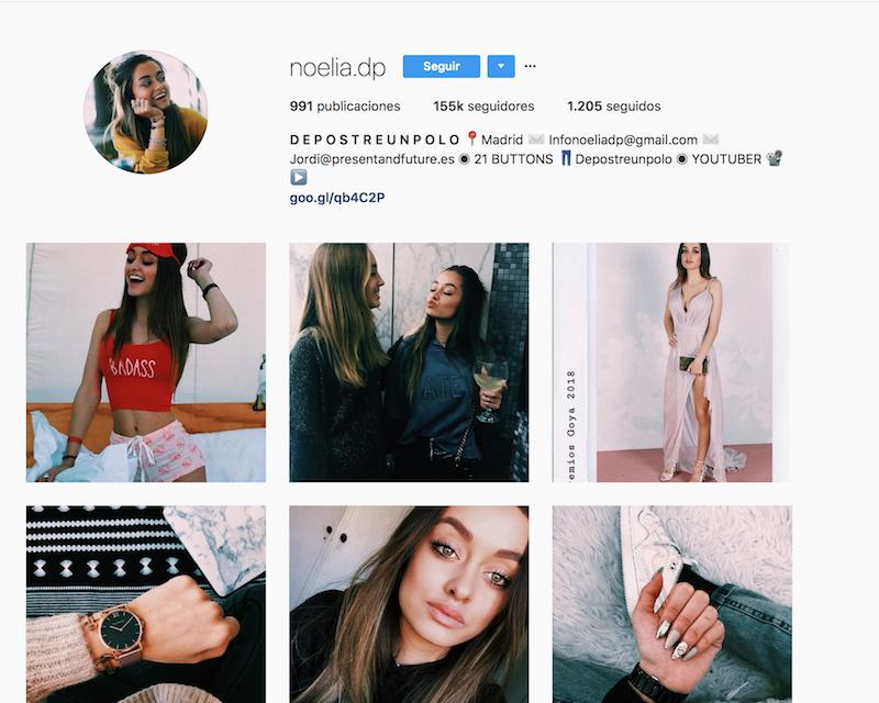 @noelia.dp instagramers de viajes