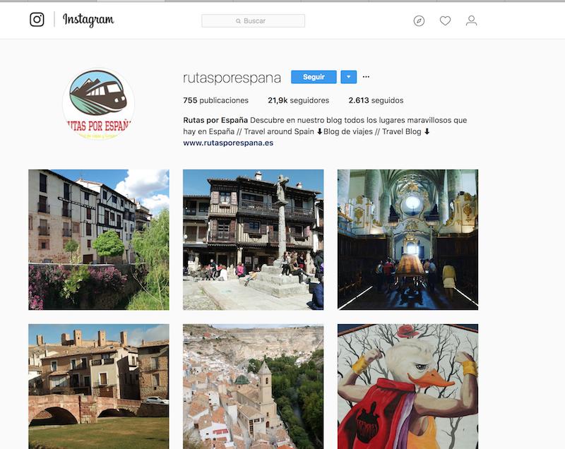 @rutasporespana instagramers de viajes