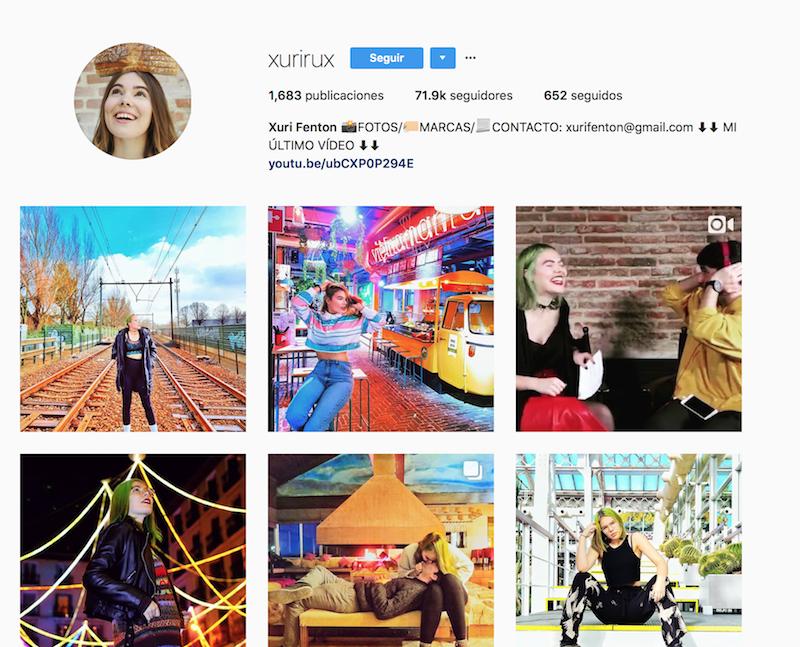 @xurirux instagramers de viajes