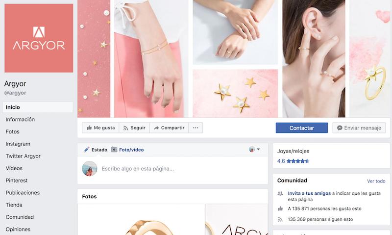 perfiles de moda en facebook ejemplo