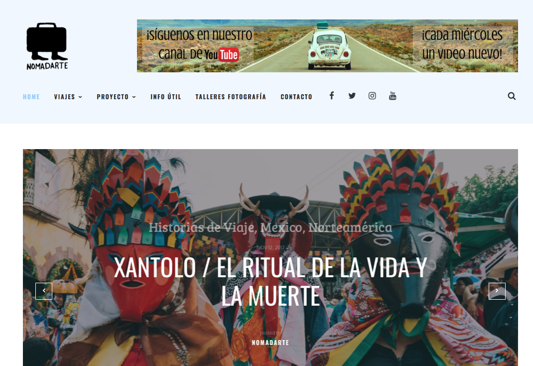 mejores blogs de viaje de México