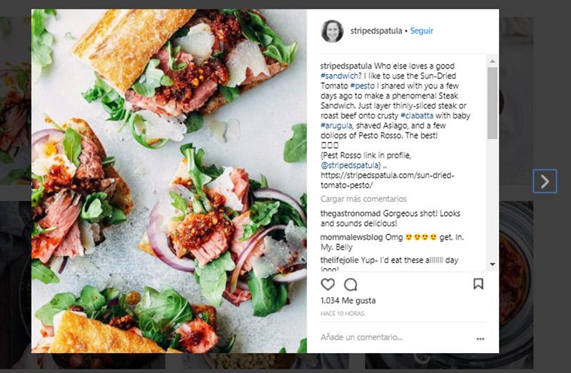 migliori profili Instagram legati al cibo