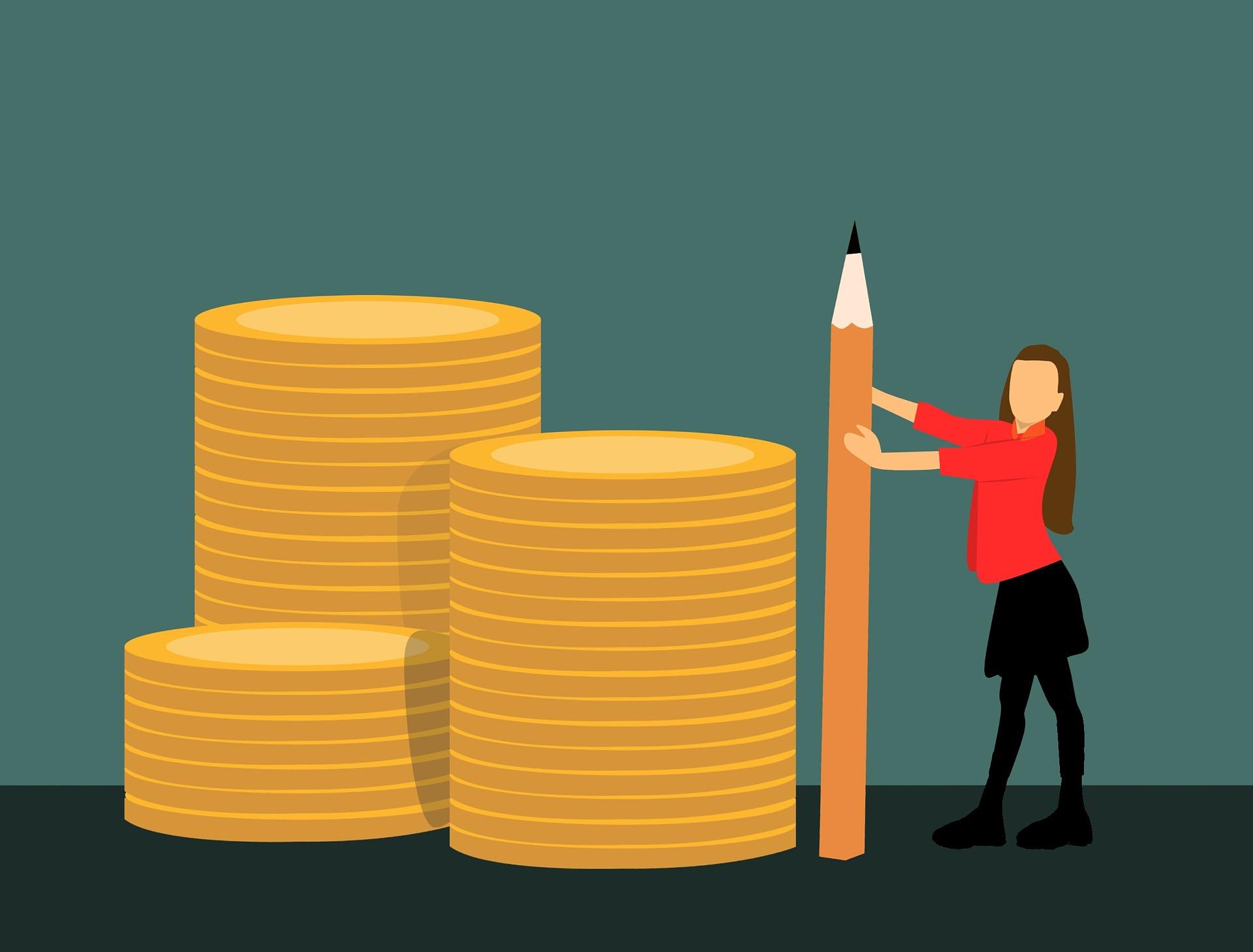 Cómo ganar dinero con Twitter- margen de beneficio