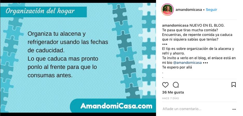 Top influencers de Instagram en gastronomía en México amando mi casa