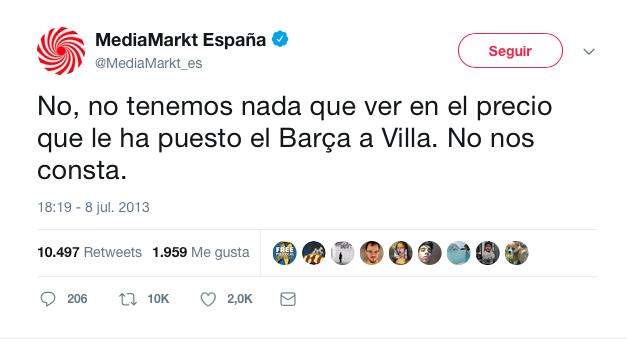 mejores tweets de marcas media Mark