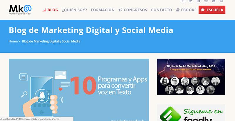 Marketing and Web