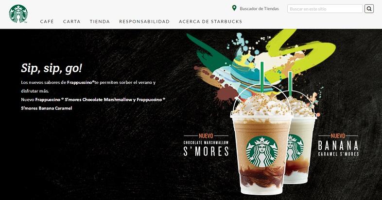 Starbucks publicidad nativa