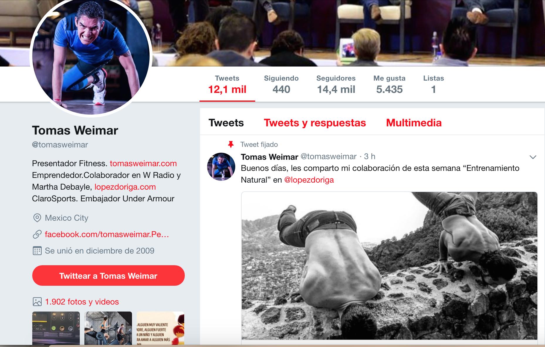 Influencers de la vida sana en México