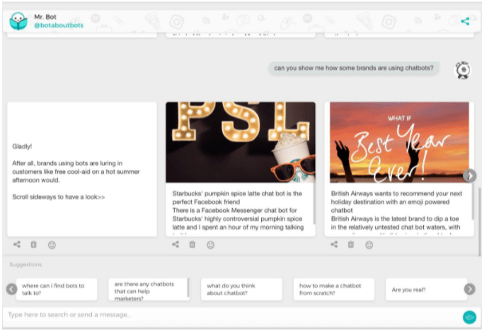 contenido personalizado y visualmente potente