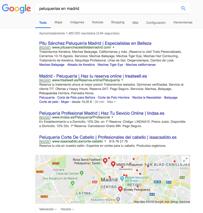 ejemplo ubicación