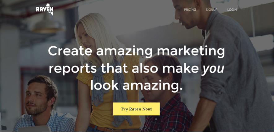 raven herramientas de marketing de contenidos