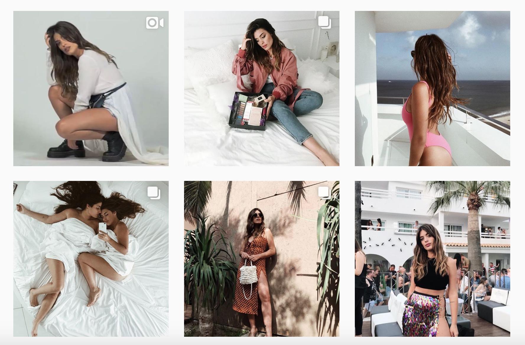 Los Influencers de moda en Instagram crean tendencia