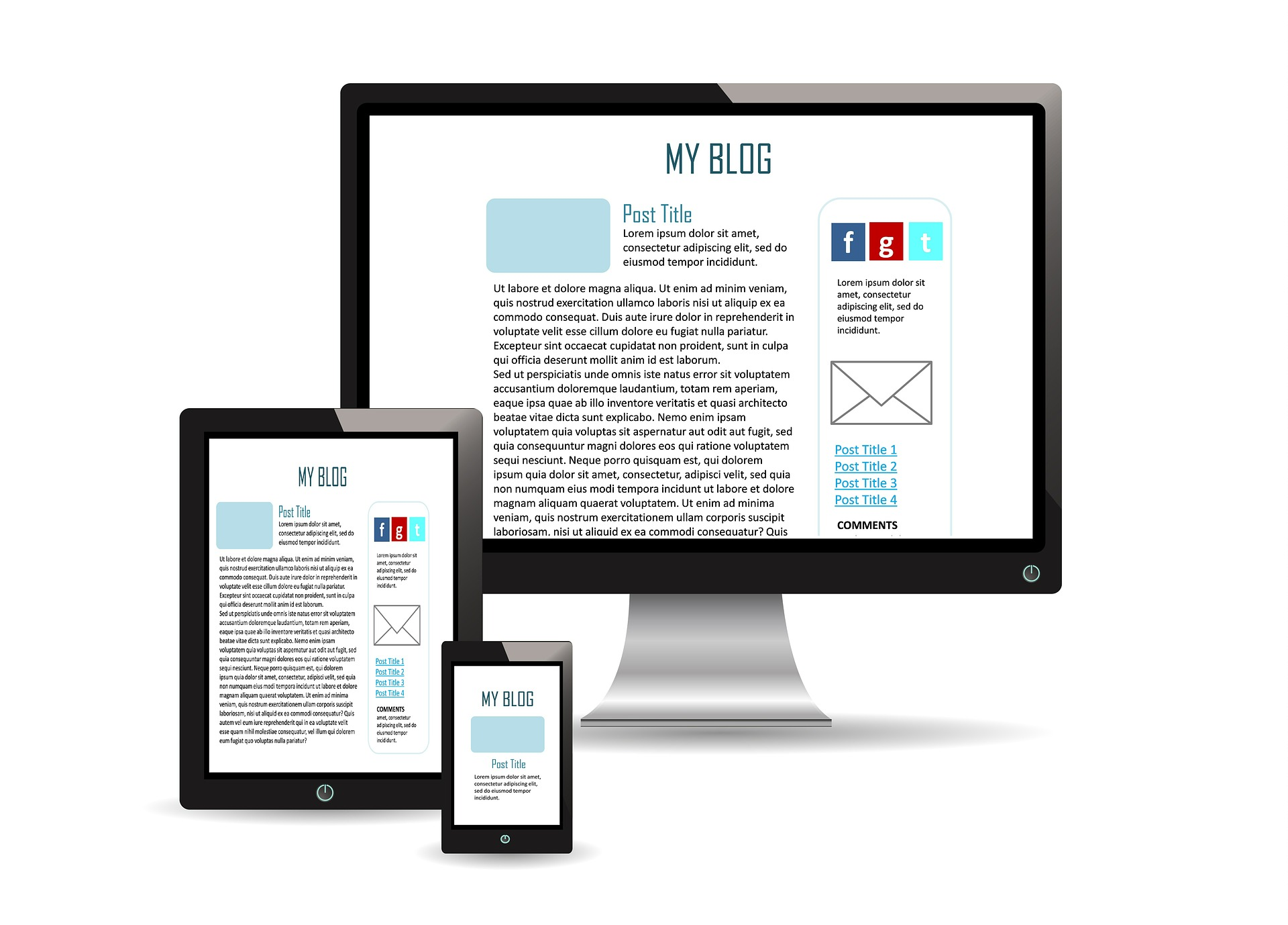 temas de la guía de estilo para tu blog